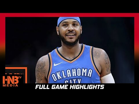 Carmelo Anthony (28 pts) Full Highlights vs Nuggets / Week 4 / Thunder vs Nuggets
