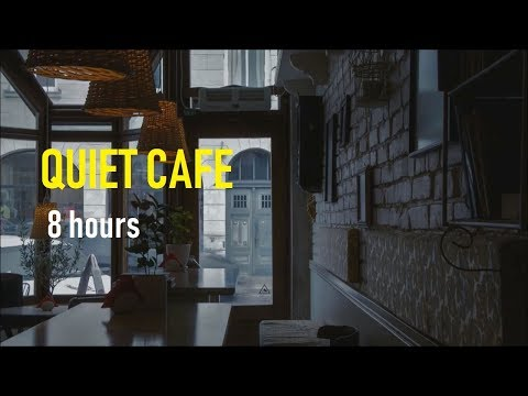 Wet Rainy Day in the Coffee Shop - 8 Hours Rain Sounds for Sleep, Study & Meditation