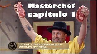 MasterChef México 2017  (capitulo 1) selección de participantes