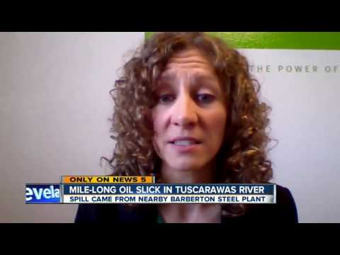 Barberton Steel Industries issued violation after mineral oil spill into Tuscarawas River