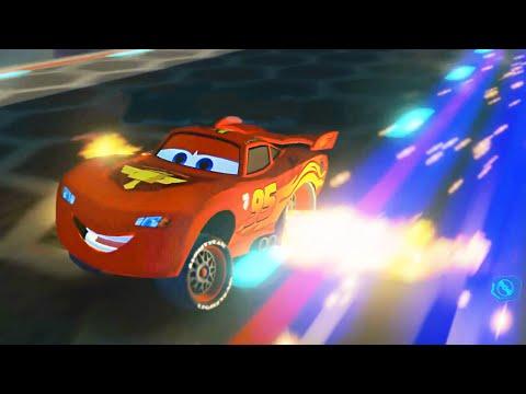 Lightning McQueen Battle Race - Disney Infinity 3.0 Gameplay