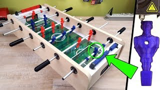 HOW IS' T MADE - Foosball Soccer With 3D Printer