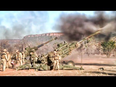U.S. Marines Artillery Battery • Talisman Sabre