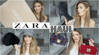 HUGE ZARA HAUL UNBOXING AND TRY ON