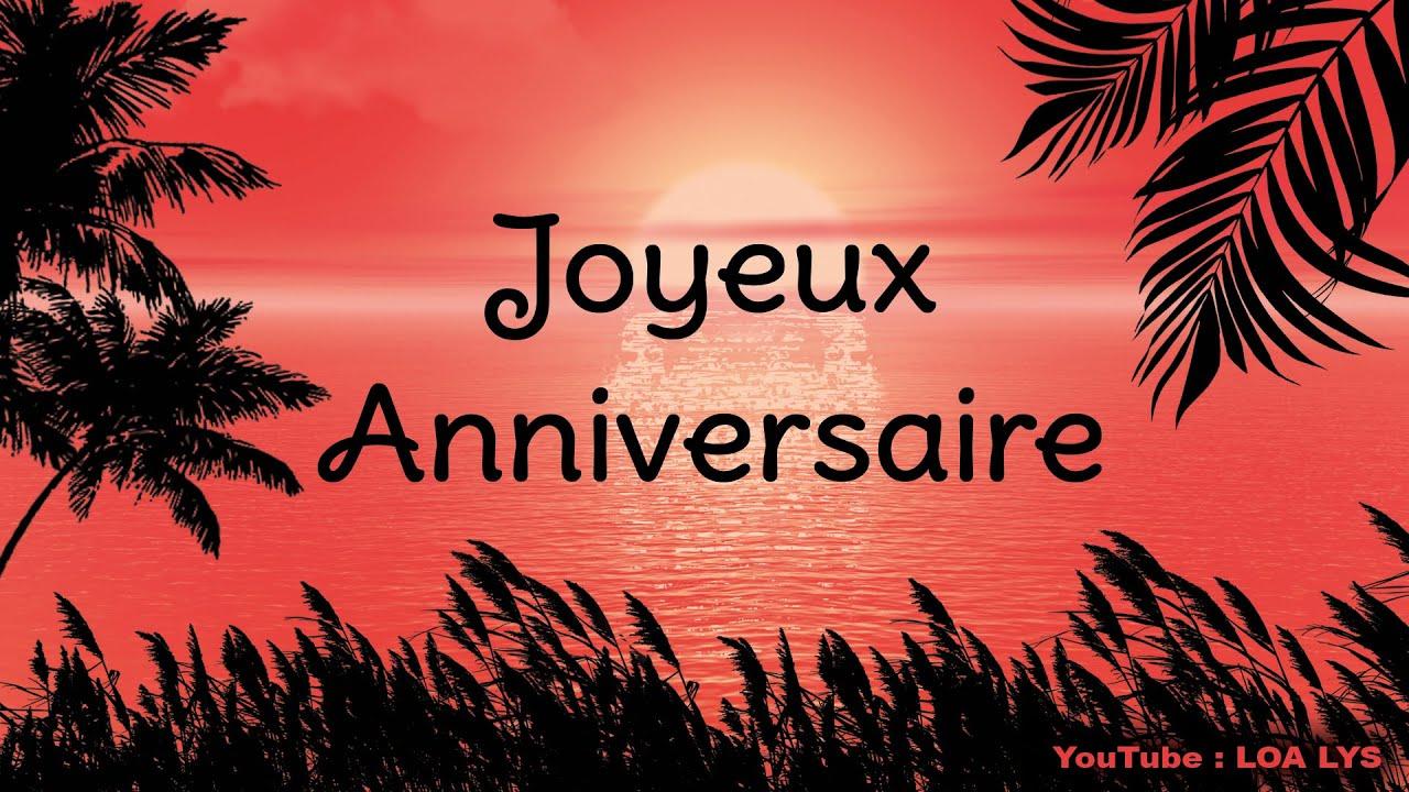 Joyeux Anniversaire Jolie Carte Virtuelle D Anniversaire Joie Et Soleil Youtube