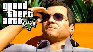 GTA 5 (PC) - Gameplay Walkthrough - Mission #4: Father/Son [Gold Medal]