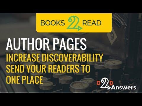 D2D Author Pages - Feature Walk-Thru
