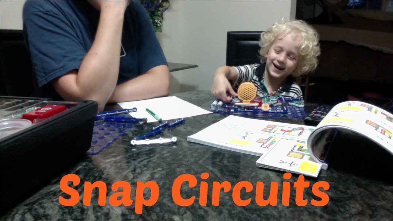 Snap Circuits Teaches 4yr Old About Electrical A Gifts For Kids The New Beginner Kit 5 And Up Nerdstuff Toy Review