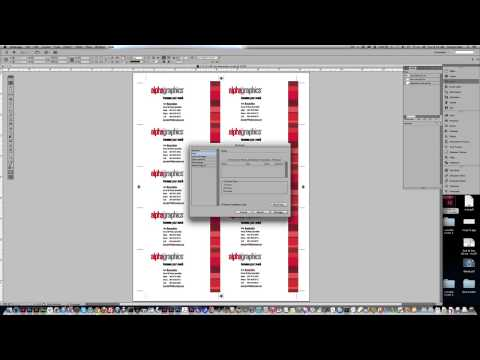 Packaging InDesign Files For Printing