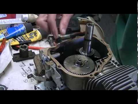 how to set timing on a lawnmower youtube. Black Bedroom Furniture Sets. Home Design Ideas