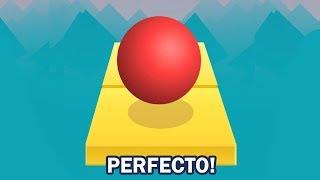 ⚠️ RETO: ¡LOS 3 NIVELES PERFECTOS!  😱 ¡SI PIERDO ME TIÑO EL PELO! - ROLLING SKY: JUEGO PARA MOVIL