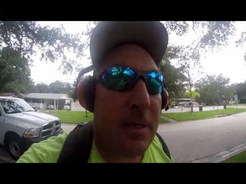 Vlog 95 labor day action  harbor  freight  shopping rain storm