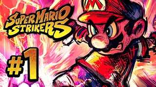 vuclip Super Mario Strikers | Mushroom Cup - 1 (Nintendo GameCube Gameplay Walkthrough)