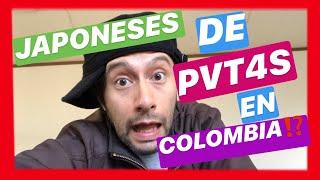 Japoneses en LATINOAMERICA   (buscando MUJERES PREPAGO  en un barrio DE COLOMBIA) VIDEO REACCION