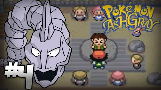 Let's Play Pokemon: Ash Gray - Part 4 - Pewter Gym Leader Brock