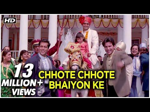 Chhote Chhote Bhaiyon (HD) | Hum Saath...