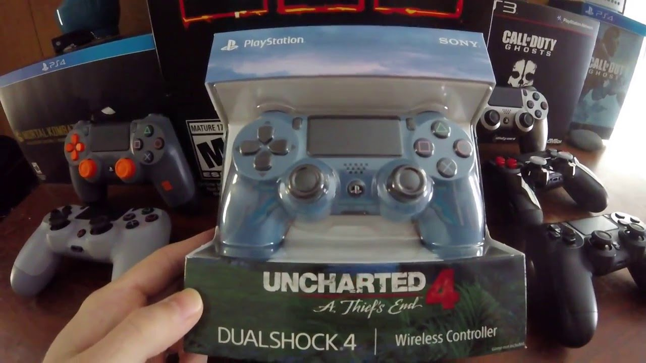 Uncharted 4 Ps4 Controller Unboxing Youtube