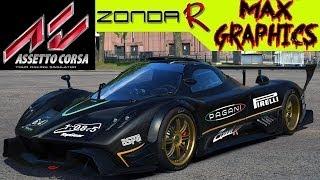 Assetto Corsa Max Graphics - Zonda Replay & Race PC HD