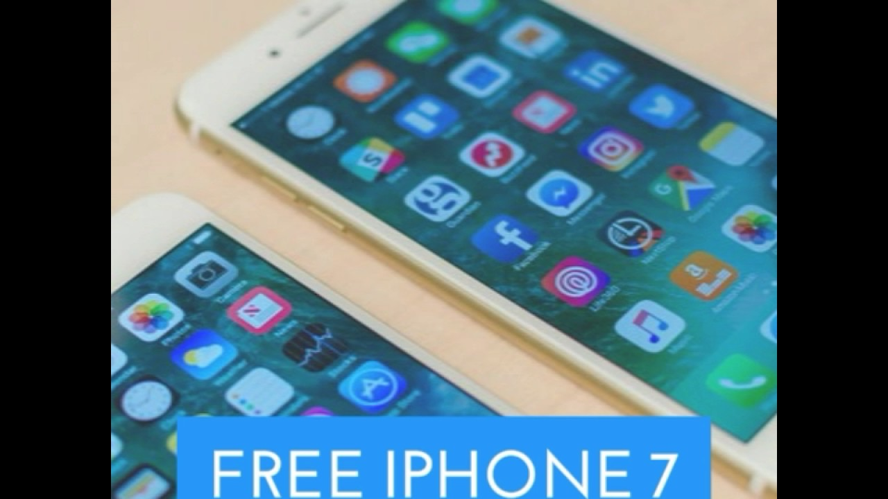 FREE IPHONE 7 - YouTube