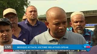 #MosqueAttack: Victims' relatives speak