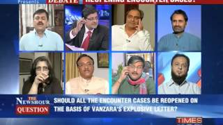 The Newshour Debate: Vanzara's letter, political fodder - Part 3