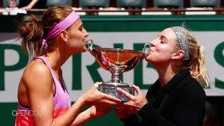 Lucie Safarova and Bethanie Mattek-Sands: Double take