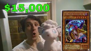 Konami 20th Anniversary HOME RUN Yu-Gi-Oh $15,000 Dark Magician Girl G3-11 JUMP BLUE EYES + LOST ART