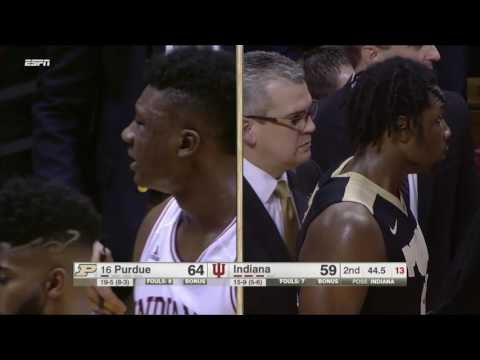Swanigan, Bryant Ejected After Double Foul