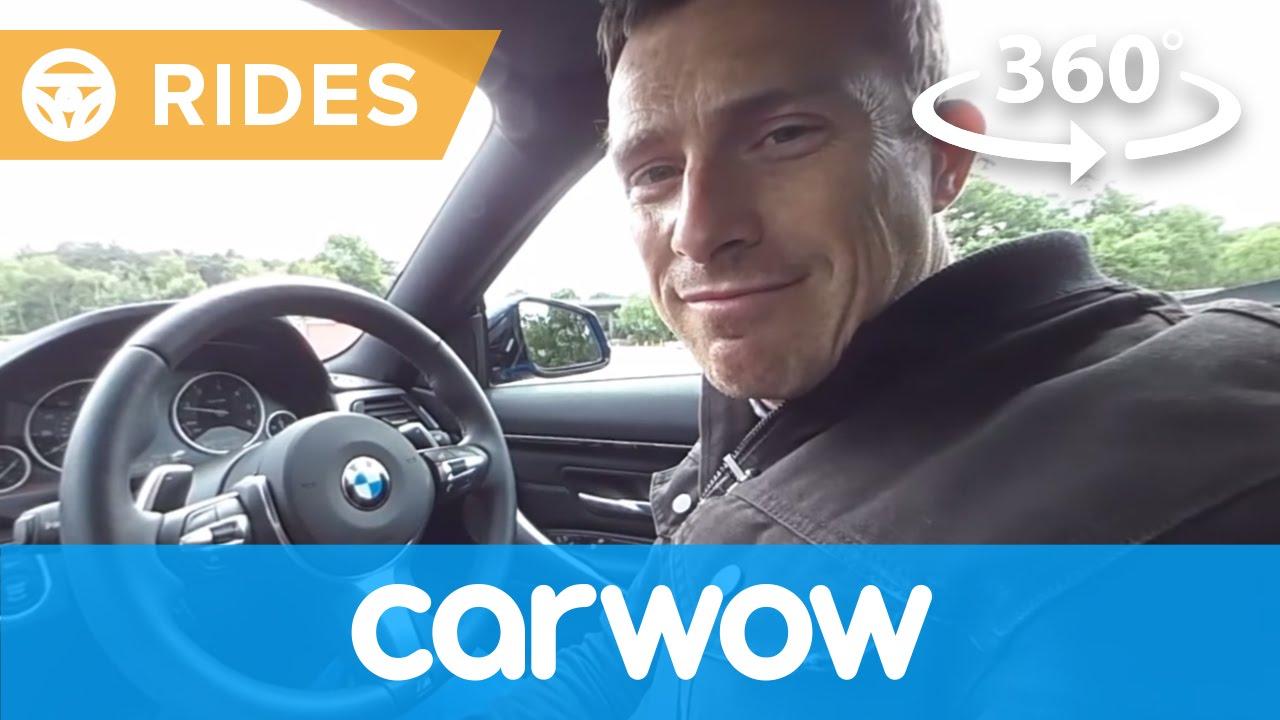 BMW 4 Series Coupe 2017 360 test drive   Passenger Rides ...