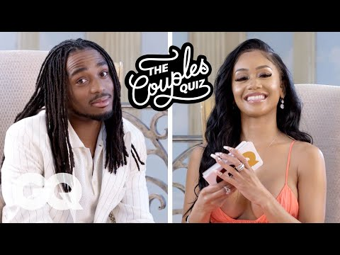 Saweetie Asks Quavo 44 Questions | The Couples Quiz | GQ