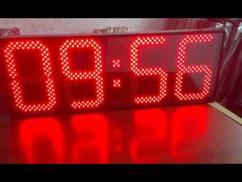 Светодиодные часы-термометр ТМ1-300