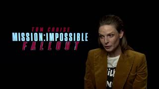 Rebecca Ferguson was blown away by Mission: Impossible - Fallout
