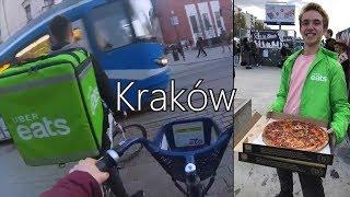 Uber Eats w Krakowie! (napiwek 100 PLN)