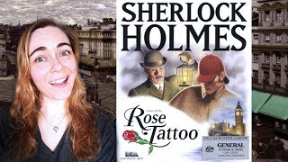 (The Case of the Rose Tattoo) Part 2 | Let's Play The Lost Files of Sherlock Holmes (1996-DOS)