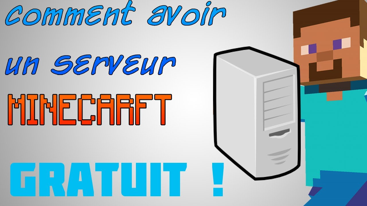 tuto comment avoir un serveur minecraft herberger gratuit youtube. Black Bedroom Furniture Sets. Home Design Ideas