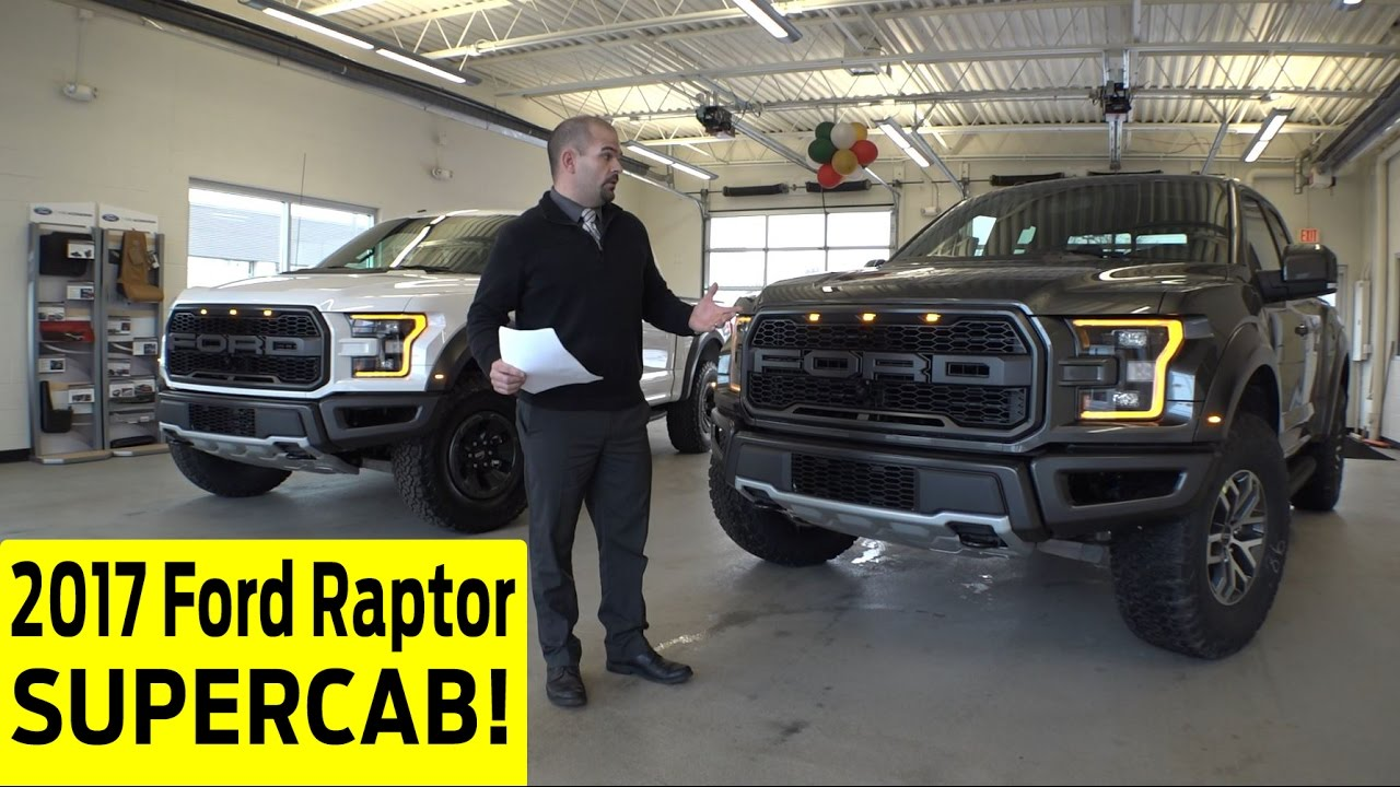 2017 Ford Raptor Supercab Exterior  Interior Walkaround with