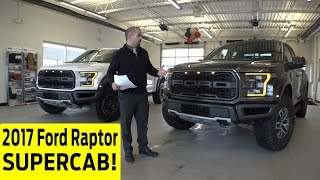 2017 Ford Raptor Supercab Exterior & Interior Walkaround with Crewcab Comparison