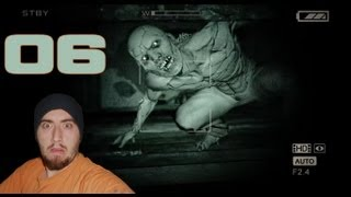 "Outlast Walkthrough - Part 6  ""Looking For Showers"" HORROR (Lets Play / Playthrough)"