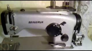 Минерва/Minerva-335-111 класс, зиг-заг #Швейная машина машинка. Sewing machine Minerva-335 kl.