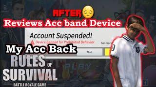 😁Hero Band Deviceយកលេងវិនបានហេីយ😁|My Acc band Device back|Ros Band Device|Give my Acc band Device|