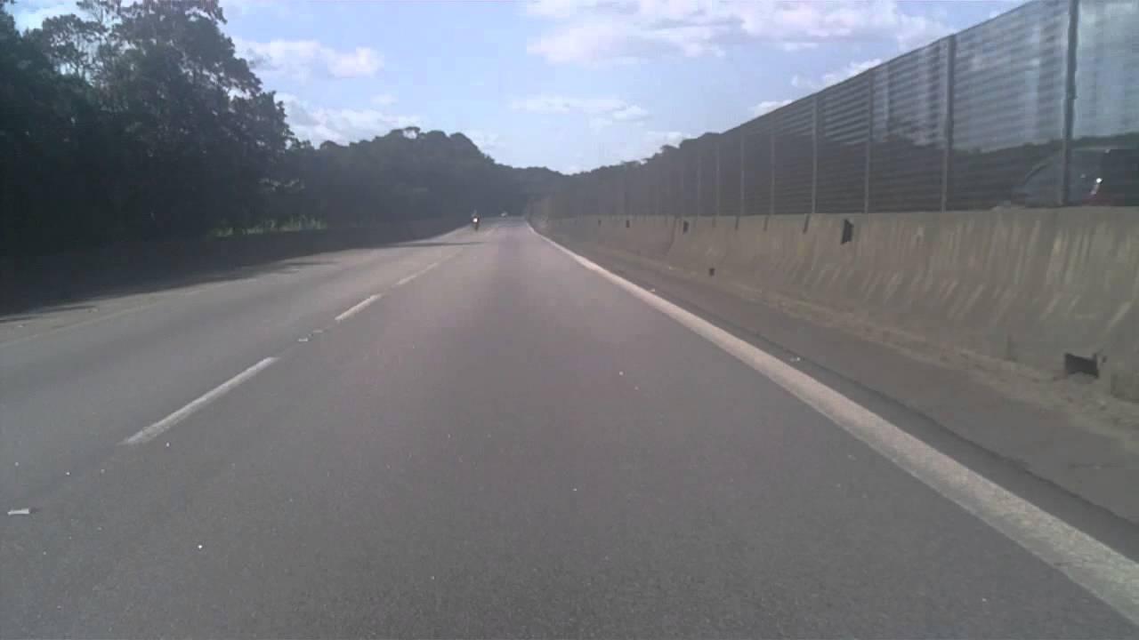 RD350 e DT200 voltando de São Paulo pela Anchieta parte 3