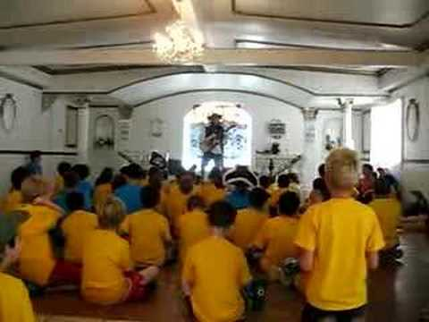 Spongebob Song with Cub Scouts
