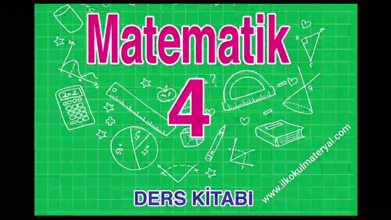 4 Sınıf Matematik Ders Kitabı Ata Yayıncılık Cevap Anahtarı Soru
