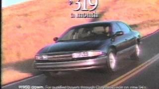 1994 Chrysler New Yorker Commercial
