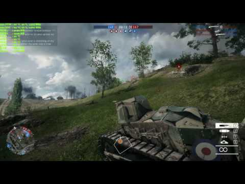 Battlefield 1 (BF1) Light Tank Howitzer (53-1)