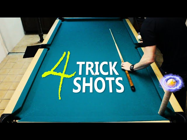 4 Pool Trick Shots: Volume 5