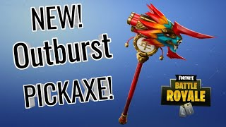 New Outburst Pickaxe Sound and review!
