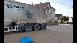 LKW Explodiert - Fett spritzt auf Häuser - Bad Day at Work
