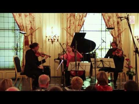 Schubert - Triosatz for string trio - Charlier, Aubry, Hallynck
