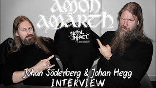 AMON AMARTH - Johan Hegg & Johan Söderberg (Metal Impact Interview / 2016-02)